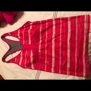 Pink Size M Nike Athletic Tank Top
